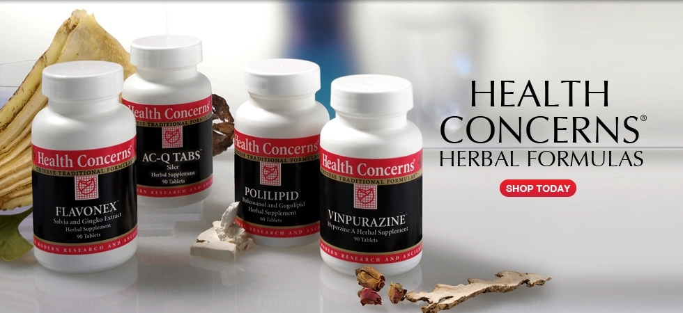 Health Concerns Herbal Formulas