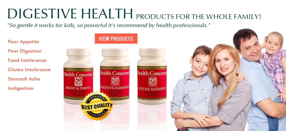Health Concerns Herbal Formulas
